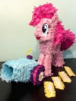 Pinke Pie Pinata Accessories by C-quel