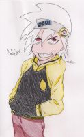 Soul Eater Evans by Meli-Chan12345