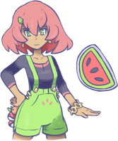Gym Leader - Melonie by torqupine
