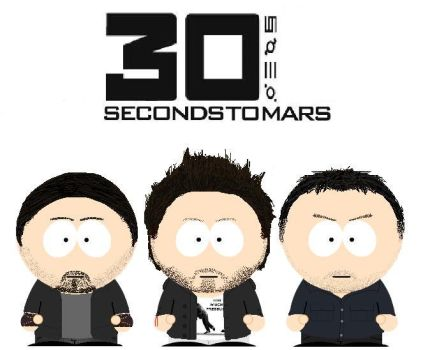 South Park 30 Seconds To Mars by lord-nightbreed