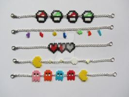 Gamer Bracelets by mynameispip