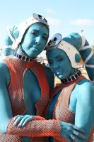 Twi'lek slaves by Saya35