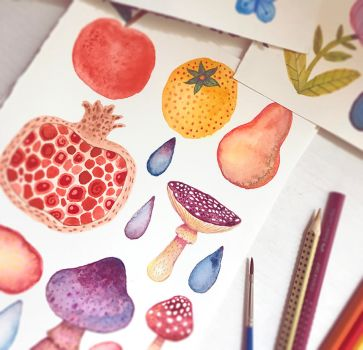 Apples and Oranges...and Mushrooms by V-L-A-D-I-M-I-R