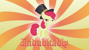 Apple Bloom indubitably wallpaper by BaumkuchenPony