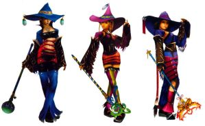 YRP Black Mages by DeadlyNeurotoxin