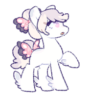 Sketchy Pony Adopt {Closed} by amorune