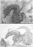 Raw Drawing 2 by Brollonks
