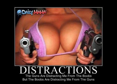Distractions by G-min