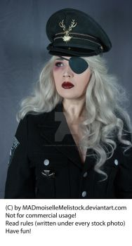 She Dieselpunk Stock 004 by MADmoiselleMeliStock