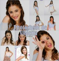 Photoshoot de Violetta by naty02