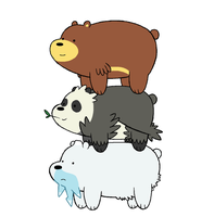 We Bare Bears Pokemon by Tzblacktd