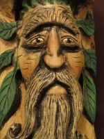 Wood Spirit Carving 2 by RiverOtterWidget