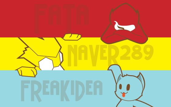 Colaboration with Fata n Naver by monsterartdit