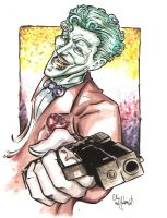 Joker Watercolors by ChrisMcJunkin