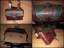 Dragon belt bag by akinra-workshop
