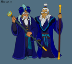 The Blue Wizards by Mara999