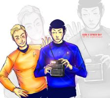 ST-Kirk Spock Day by Mkb-Diapason