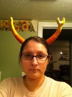 New Vriska horns by kast43