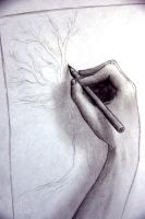 To Draw A Drawing by Chamandra