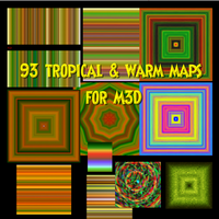 M3D -93 Tropical and/or Warm Maps by PhotoComix2