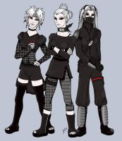 Ninja Trio by un-makeup
