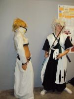 Halibel  and toshiro cosplay by Mikux3Cosplay