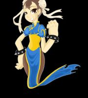 ChunLi Animated Pixel art by Tiger-Lilyy