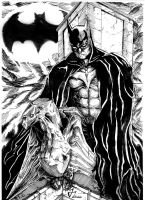 Batman by aquaticpig