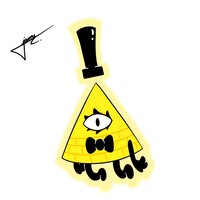 Bill Cipher by euamodeus