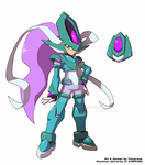 Commission : Model Suicune Ashe by Tomycase