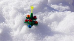 Lego Christmas Tree by dssken