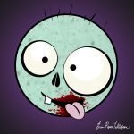 Zeke the Zombie by spookyspinster