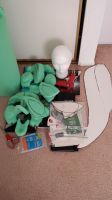 The pile of fursuit supplies by InvaderZec