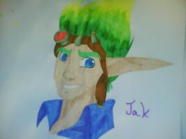 Jak in Markers by CharmArtist