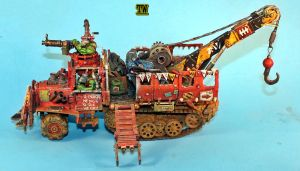 Ork wrecker trukk by billking