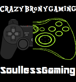 CrazyBronyGaming - SoullessGaming's Official LogoY by AquaButton