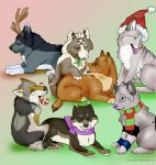 2011 Wolf Xmas Gifts by NatsumeWolf