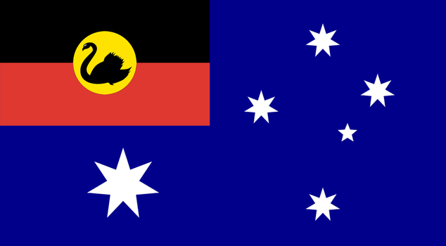 Flag of the West Australian Republic by RvBOMally