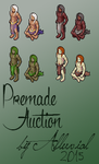 Auction: Premade Male Avatar (OPEN) by Alluvial