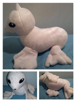 dewgong plush by LRK-Creations
