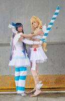 Panty and Stocking. Cosplay by Giuzzys