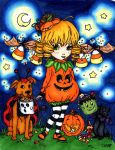 Cutie Pie Halloween Contest Entry by BevyArt