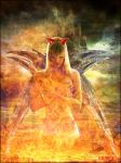 LoNeLy DaRk AnGel In FiRe by frisca-natali