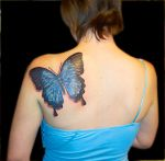 Shoulder Butterfly by Liz1ttrstudio