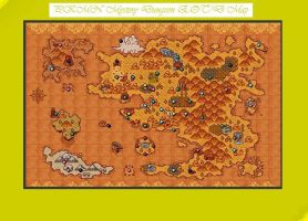 PKMN Mystery Dungeon 2 Map by Starshadow108