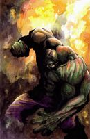 Hulk colors by SpaciousInterior