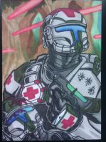 Republic Commando Medic Clone Trooper by Grymjack