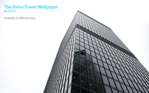 The Aviva Tower Wallpaper by photoartiste