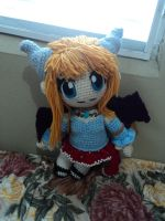 Commission Crochet Yun Doll by EndlessBlueSky