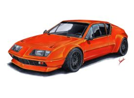 Alpine A310 Evo by vsdesign69